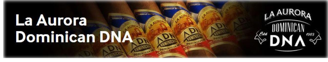 La Aurora ADN Dominicano (Dominican DNA) Cigars