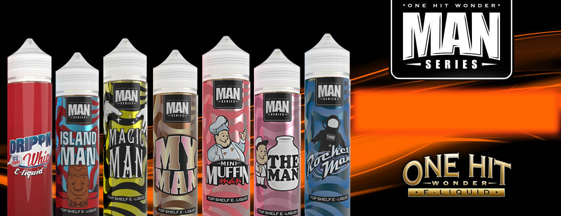 The Man Series One Hit Wonder Shake'n Vape