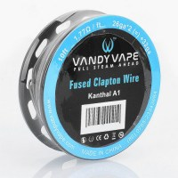 authentic-vandy-vape-kanthal-a1-fused-clapton-wire-heating-resistance-wire-26ga-x-2-32ga-177-ohm-ft-3m-10-feet-enkedro
