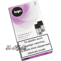 logic-compact-berry-mint-12mg-eliquid-pods-enkedro