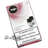 logic-compact-cherry-12mg-eliquid-pods-enkedro
